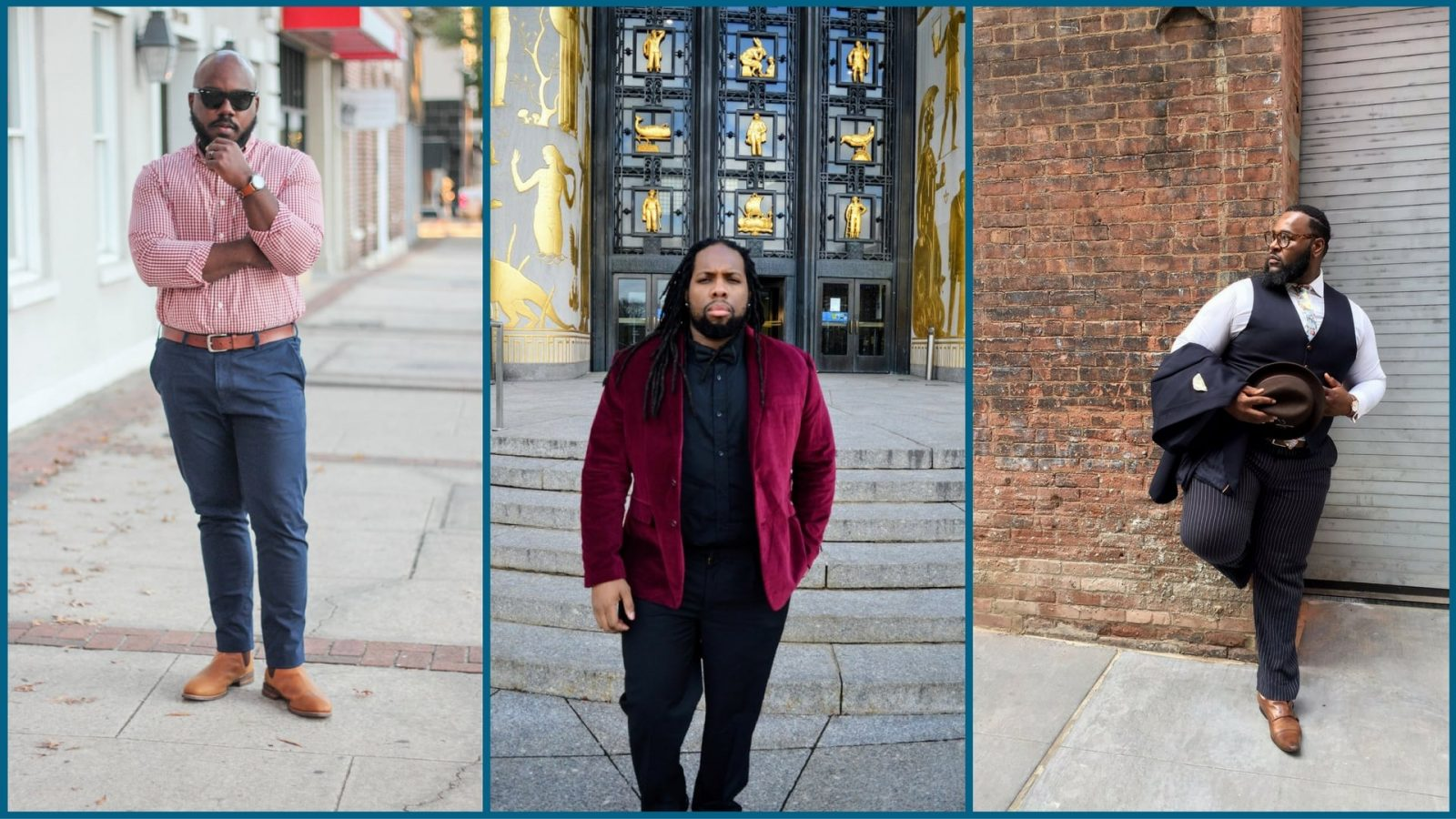 Top Three Plus Size Male Bloggers