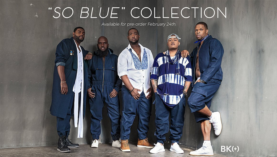 New Brandon Kyle So Blue Collection