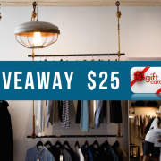 Enter A Giveaway To Win One Of Two $25 Gift Cards