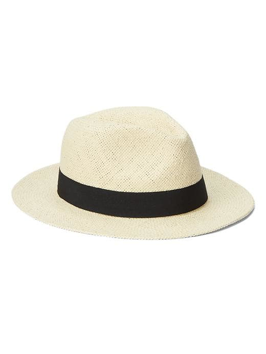 Accessories Of The Week By Gap Straw Panama Hat & Stripe Belt